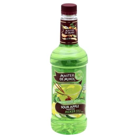 apple martini mix master of mixes martini mix sour apple 33 80 fl oz