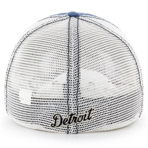 47 brand detroit tigers mlb rockford mesh fitted baseball