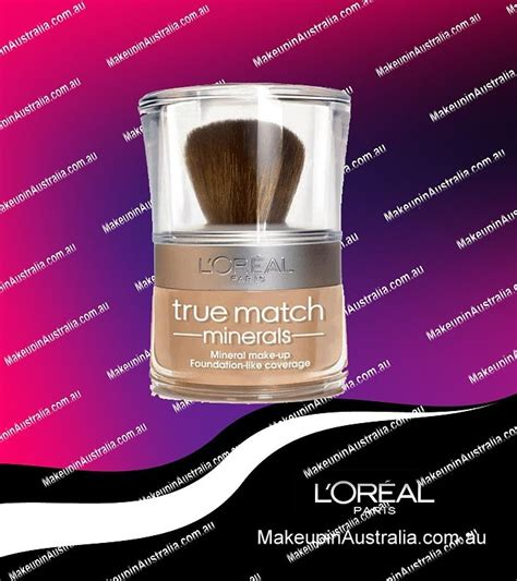 L Oreal True Match Mineral Foundation l oreal loreal true match mineral foundation