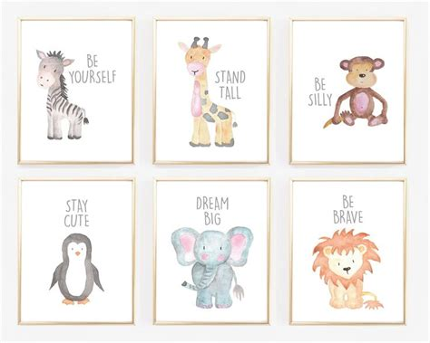 Animal Nursery Decor Best 25 Animal Prints Ideas On Pinterest Animal Nursery Baby Animal Nursery And Animal Theme