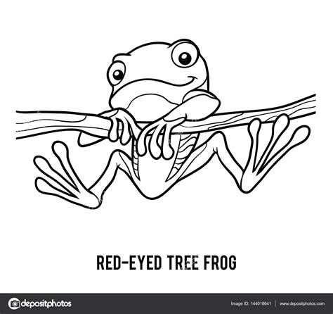coloring page of red eyed tree frog tree frog coloring pages coloring pages ideas reviews