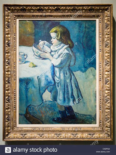 picasso paintings at the national gallery quot le gourmet quot by pablo picasso 1901 on canvas
