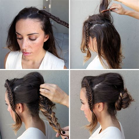 how do you do the bun in box braids 10 unconventional ways to style a braid brit co