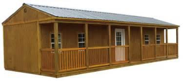 porch cabin portable storage buildings waco