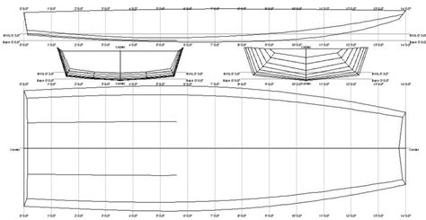 scow hull plans wooden boat plans pdf