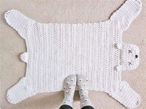 crochet pattern galore crochet patterns galore polar bear rug