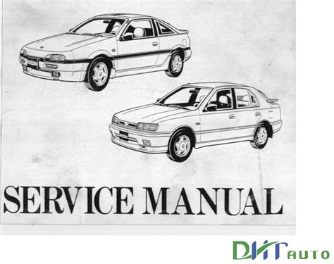 old cars and repair manuals free 1990 nissan maxima engine control nissan pulsar n14 b13 1990 1995 service repair manuals automotive library