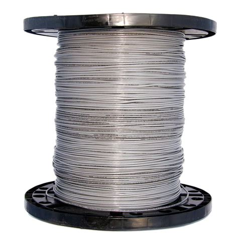 southwire 2500 ft 14 gray stranded thhn wire 22963306