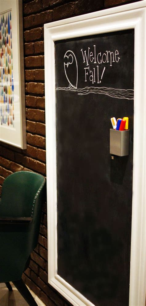 diy chalkboard chalk line kitchen chalkboard diy today s nest