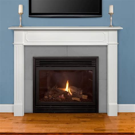 New Fireplace Mantel by Pearl Mantels 520 48 Berkley Paint Grade Fireplace Mantel