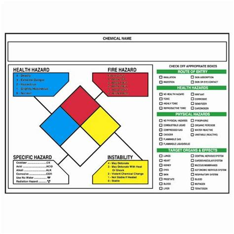 printable nfpa labels safety signs right to know nfpa target organ labels