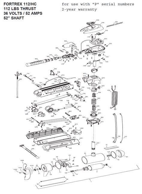 minn kota 565 trolling motor parts minn kota 565 trolling motor wiring diagram repair