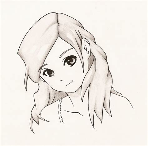 Anime Drawings Easy by Anime Drawing Easy Easy Draw Anime Drawing