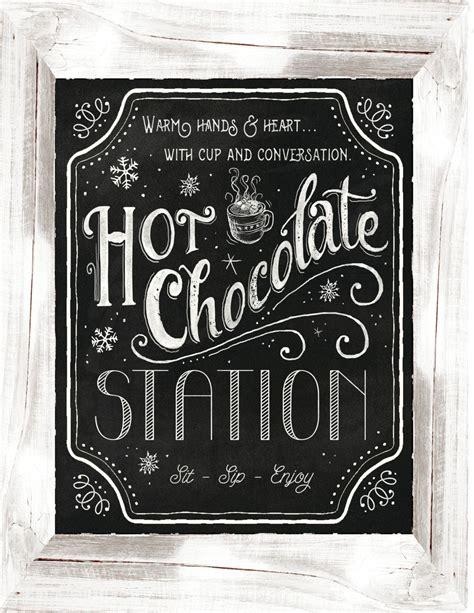Cocoa Sign Printable