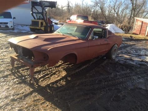 mustang conversions 1968 ford mustang fastback project coupe conversion for sale