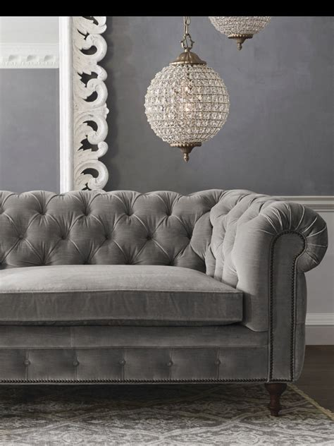 tufted gray couch grey tufted sofa g r e y pinterest grey tufted sofa