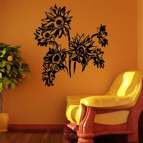 Plant Wall Sticker 26 best flowers plant tree wall stickers decals images