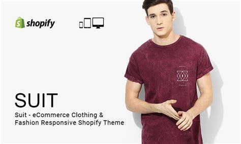 shopify themes clothing suit ecommerce clothing fashion responsive shopify