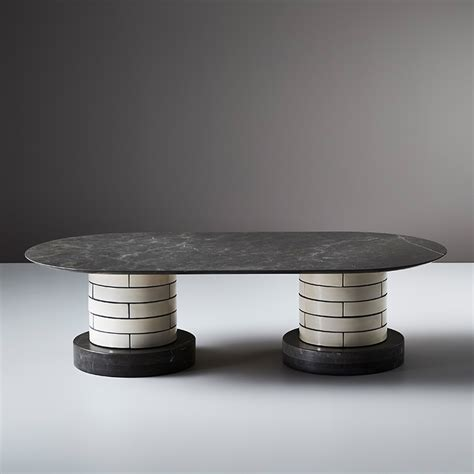metro coffee table porcelain