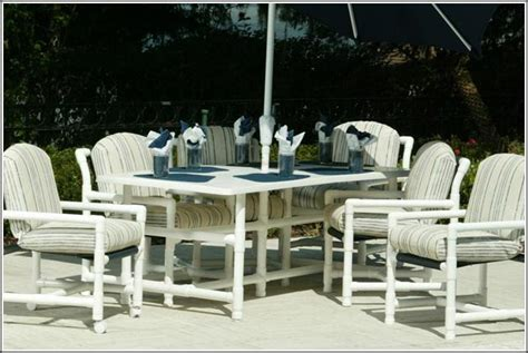 outdoor pvc furniture modern diy patio furniture ideas