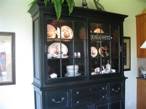 large black china cabinet black stanley china cabinet