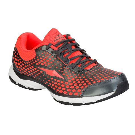 Avia Grey Pink womens avia running trainers in various colours ebay