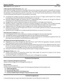 Procurement Consultant Cover Letter by 12 Procurement Resume Sle Riez Sle Resumes Senior Project Engineer Consultant Quality