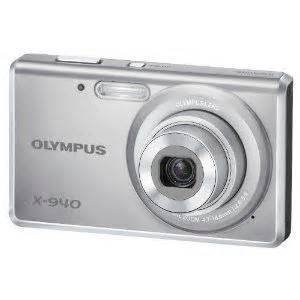 Kamera Digital Olympus X 940 Olympus X 940 14 Mp Digital With 4x Wide Angle Zoom And 2 7 Inch Lcd Silver