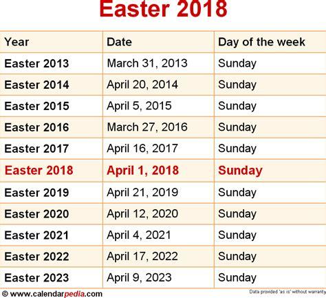 2018 Calendar Easter Dates Easter 2017 Calendar Date Calendar 2017