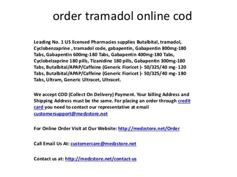 Tramadol Detox Method by Buy Tramadol