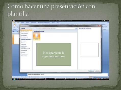como hacer una presentacion en powerpoint como hacer una presentacion en power point