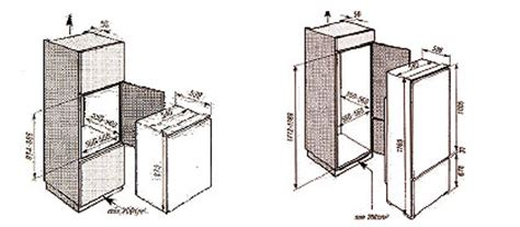 Kitchen Vent Requirements Buyers Guide To Built In Refrigeration The Kitchen