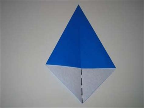 Origami Kite Base - completed origami kite base crafts origami