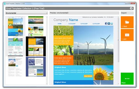 newsletter template software email templates software screenshots email newsletter
