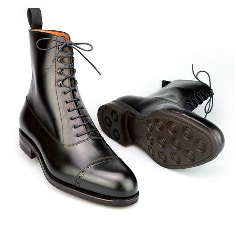 mens black balmoral chelsea boots carmina