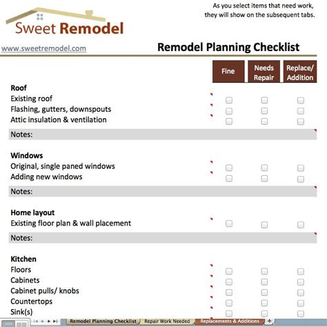 renovating a house checklist 91 best images about project management on pinterest