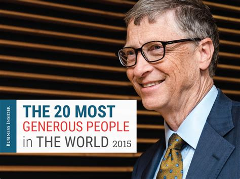 generous uk celebrities the 20 most generous people in the world business insider