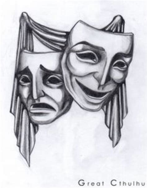 theater mask tattoo designs best 25 drama masks ideas on theater mask