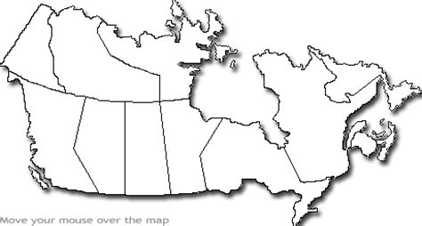 printable blank canada map geography blank map of canada
