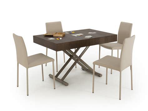 tavolino trasformabile in tavolo tavolino trasformabile ad altezza tavolo lucas homeplaneur