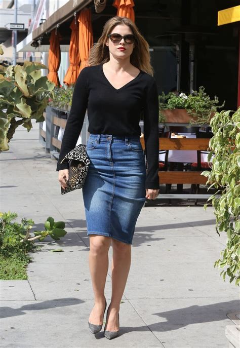 ways to wear a denim skirt pencil skirts pear shaped