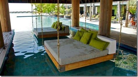 pool beds best of the maldives swing anantara kihava maldives