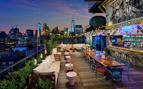 top ten rooftop bars in nyc the best rooftop bars in nyc wine4food