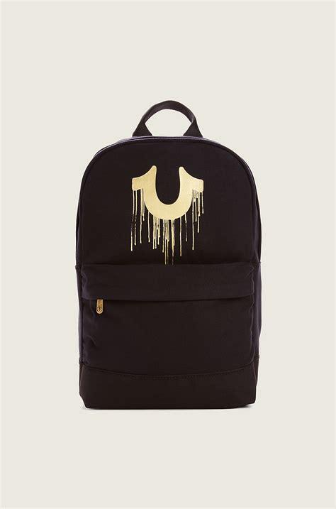 Feligio Backpack true religion drippy horseshoe backpack in black for