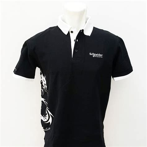 Kaos Tetron Vosca Supply Co kaos polo hitam synergy promotion