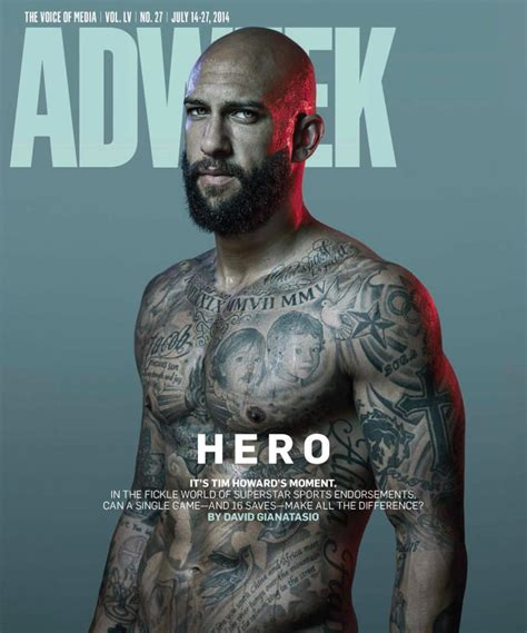 soccer players tattoos world cup players tim howard america photos