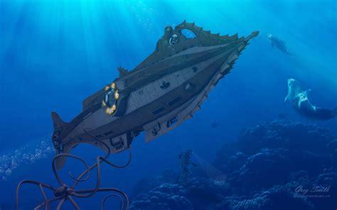 disney nautilus wallpaper 20 000 leagues under the sea nautilus rising 1920x1200