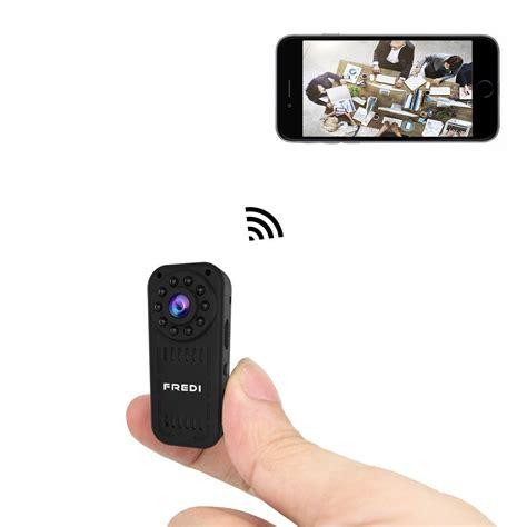 spy cam android fredi hidden camera 1080p hd mini wifi camera spy camera