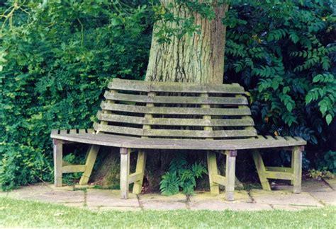 bench around a tree design bench around tree garden design by sara barraud garden