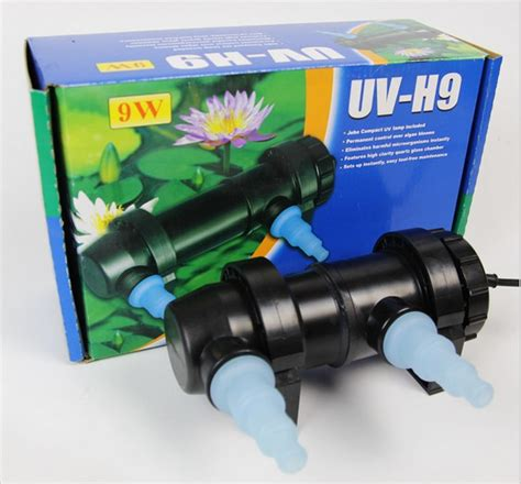 Lu Aquarium Jebo 10 Watt jebo uv h9 9w wattage uv sterilizer l light ultraviolet